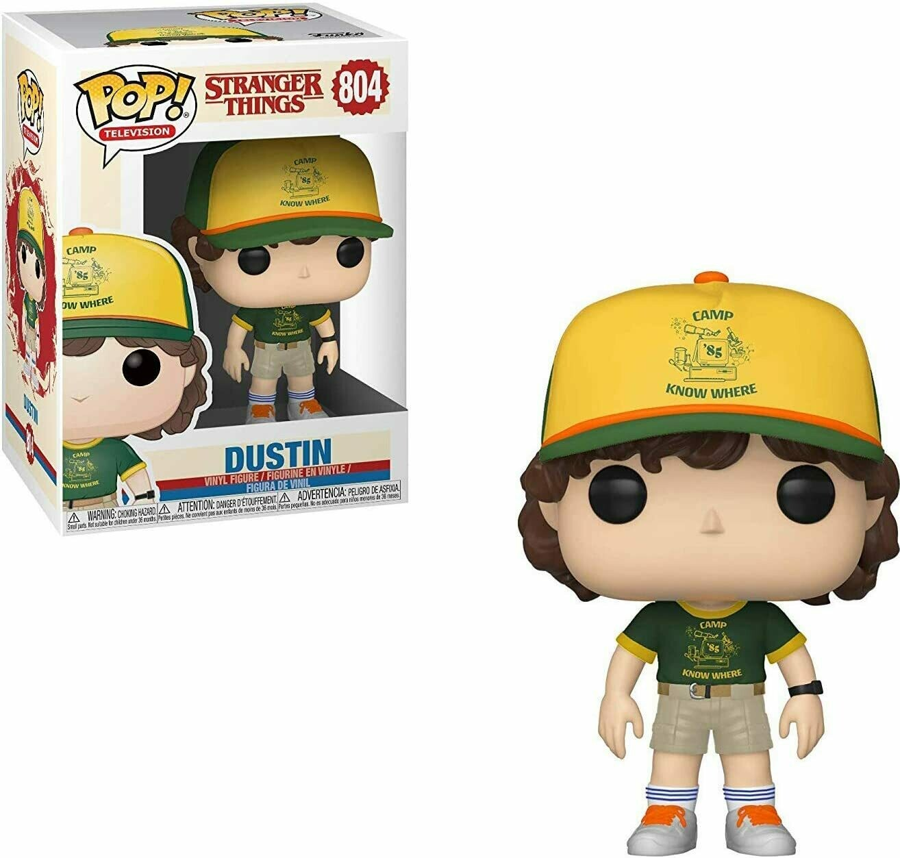 Funko Pop! Dustin #804 Stranger Things