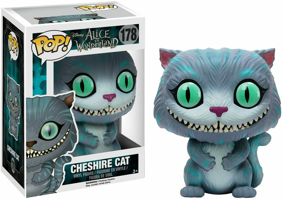 Funko Pop! Gato Cheshire Alicia Pais de las Maravillas