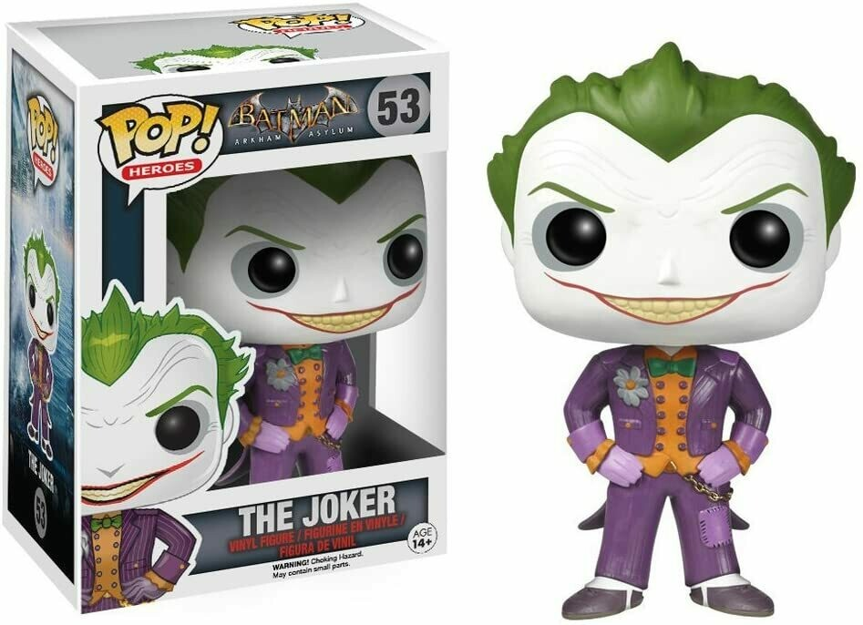 Funko Pop! The Joker - Arkham Asylum