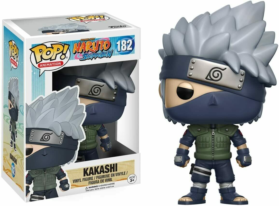 Funko Pop! Kakashi #182 - Naruto Shippuden