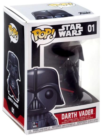 Funko Pop! Darth Vader #01 - Star Wars