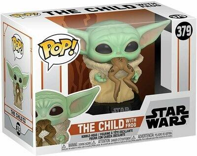 Funko Pop! The Child (Baby Yoda) con rana- Star Wars