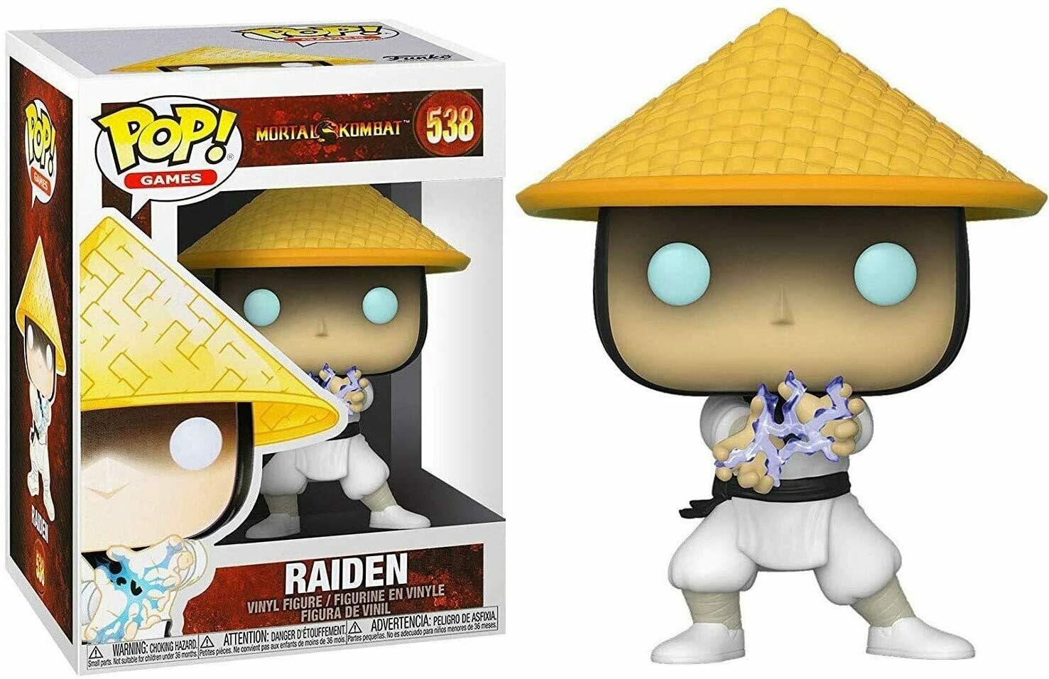 Funko Pop! Raiden - Mortal Kombat [Caja con Detalle]