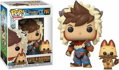 Funko Pop! Lute & Navirou - Monster Hunter