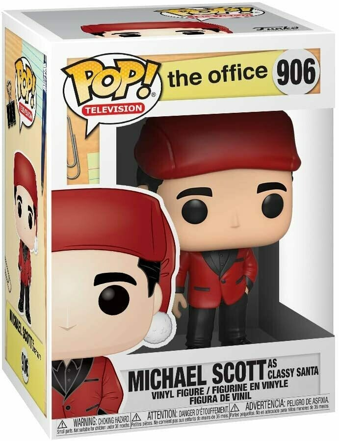 Funko Pop! Michael Scott (Classy Santa) - The Office