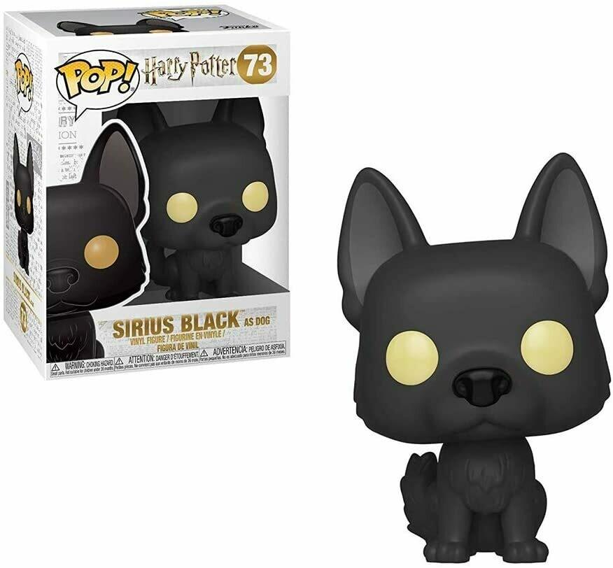 Funko Pop! Sirius Black Dog Harry Potter Caja c Detalle