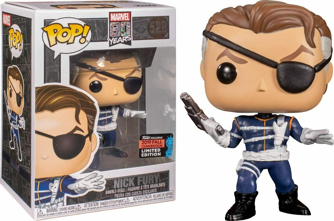 Funko Pop! Marvel: Nick Fury Convencion Otoño 2019