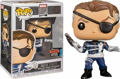 Funko Pop! Marvel: Nick Fury Convencion Otoño 2019