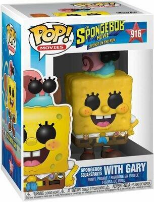 Funko Pop! Bob Esponja con Gary