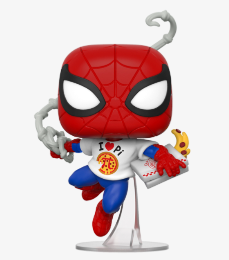 Funko Pop! Marvel: Spider-Man con Pizza #672 Exclusivo
