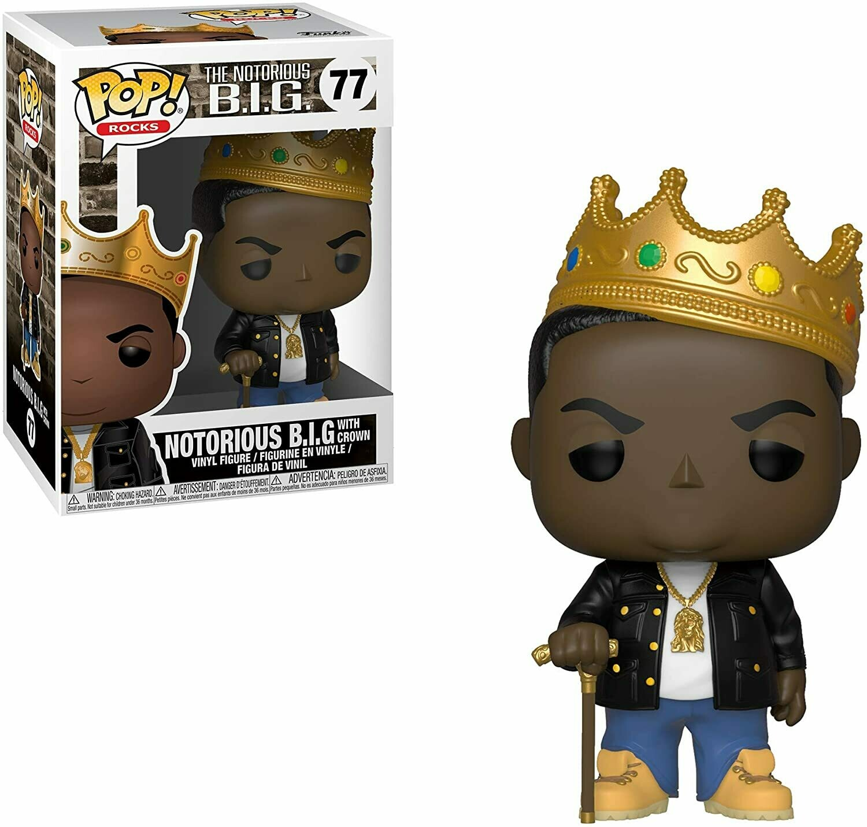 Funko Pop! Notorious B.I.G. con corona
