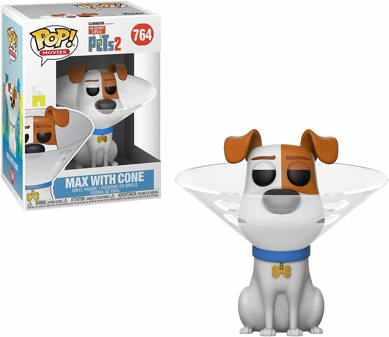 Funko Pop! Max La vida secreta de tus Mascotas
