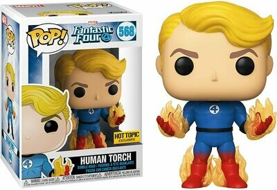Funko Pop! Marvel: Antorcha Humana Los 4 Fantasticos Exclusivo