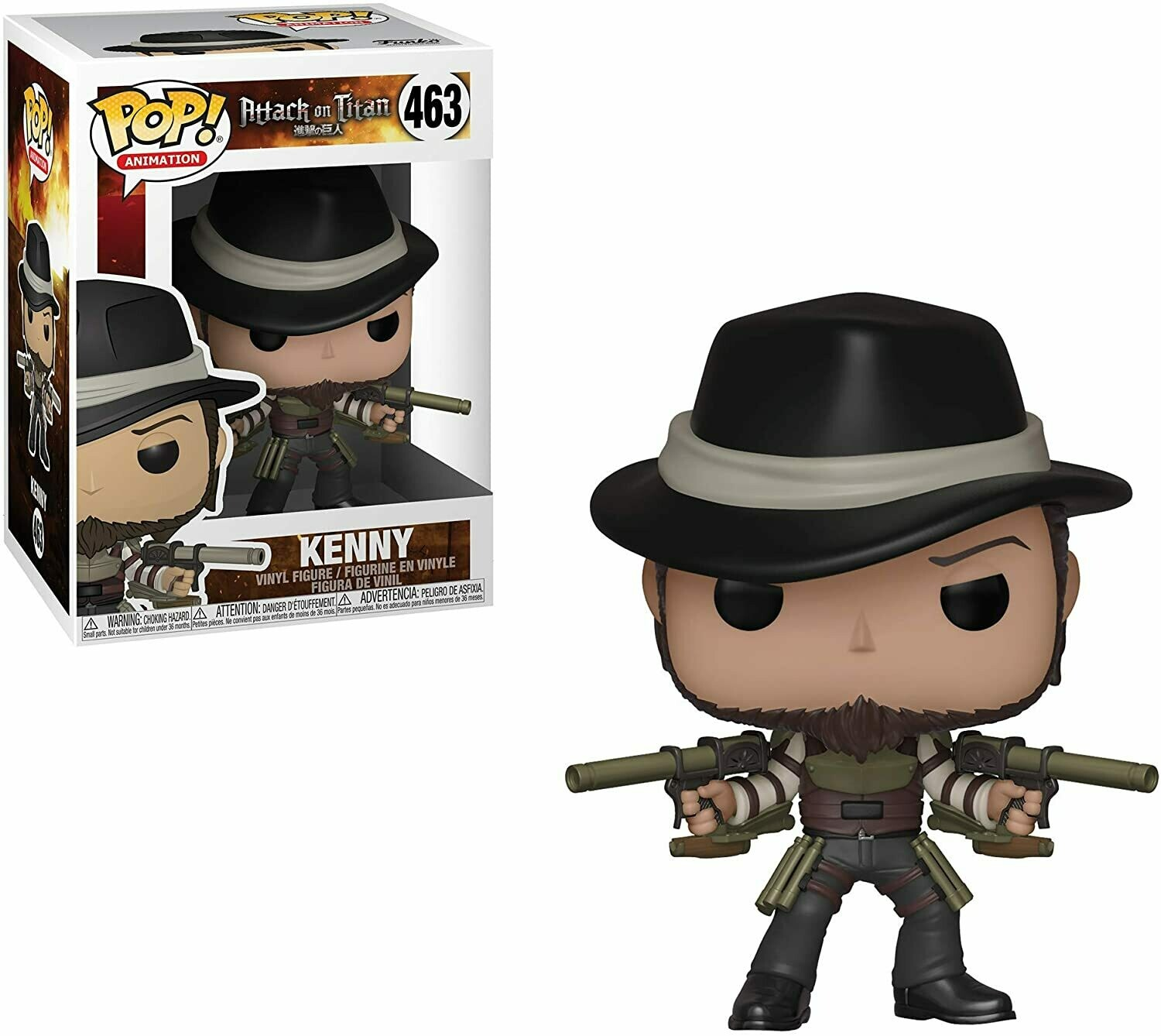 Funko Pop! Kenny - Attack On Titan