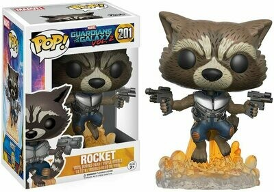 Funko Pop! Marvel: Rocket - Guardianes de la Galaxia