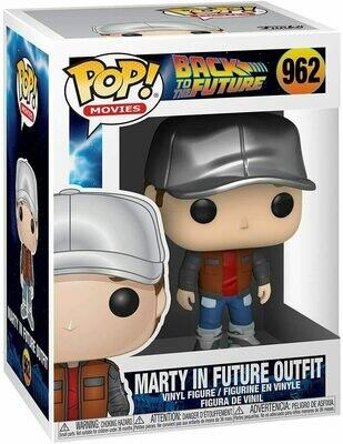 Funko Pop! Marty Future Outfit - Volver al Futuro