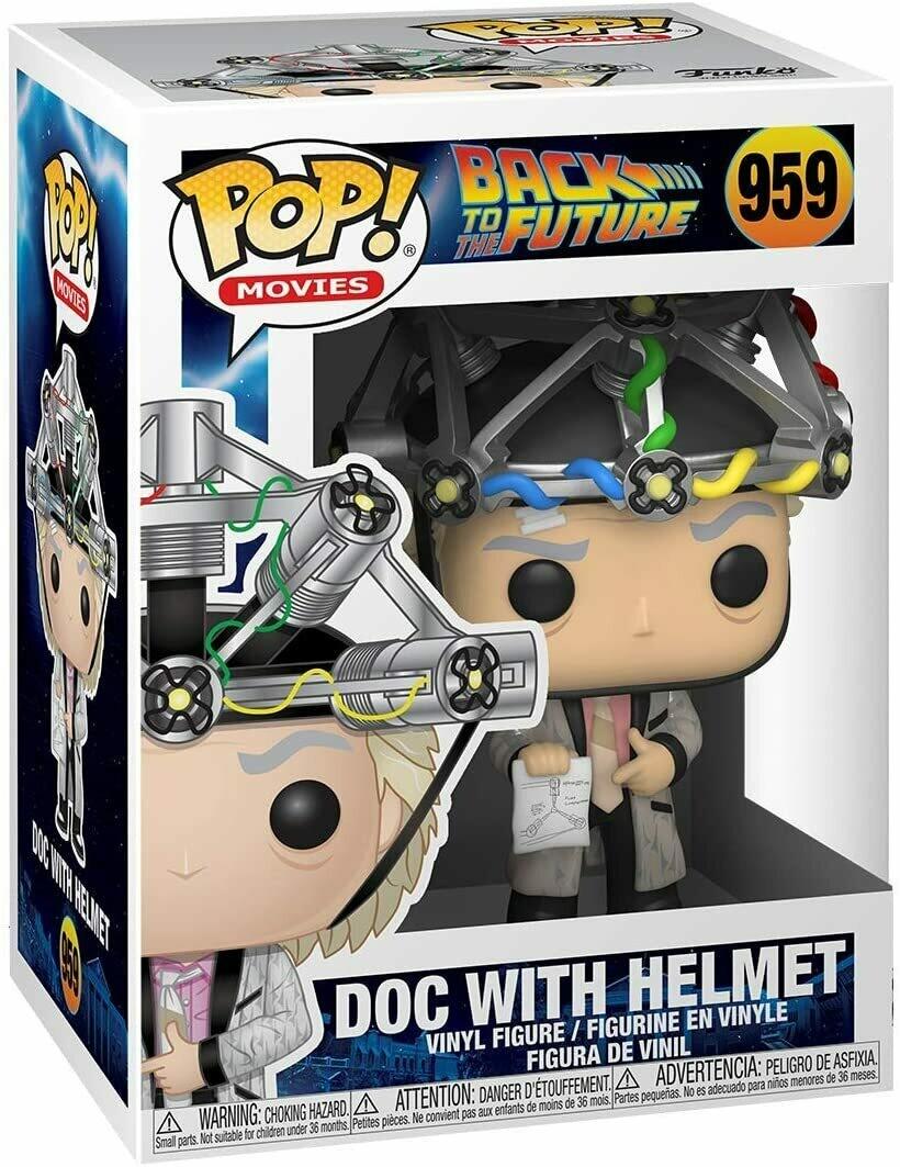 Funko Pop! Doc con Casco - Volver al Futuro