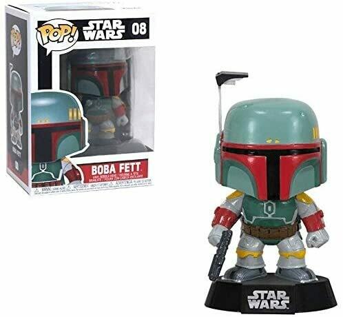 Funko Pop! Boba Fett #08 - Star Wars