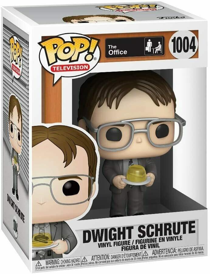 Funko Pop! Dwight Schrute con Gelatina - The Office