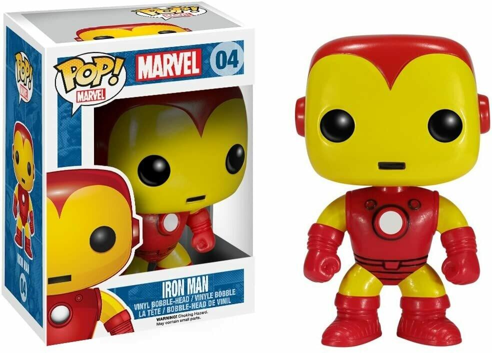 Funko Pop! Marvel: Iron Man #04