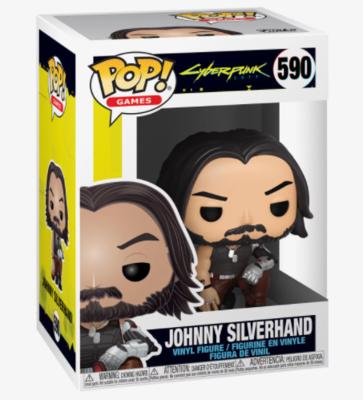 Funko Pop! Johnny Silverhand #590 - Cyberpunk 2077