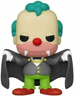 Funko Pop! Krusty Vampiro - Simpsons Casa del Horror