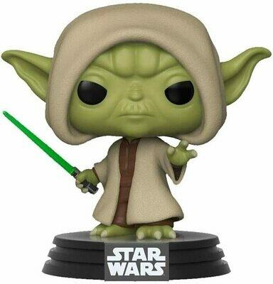 Funko Pop! Yoda (Hooded) - Star Wars Exclusivo