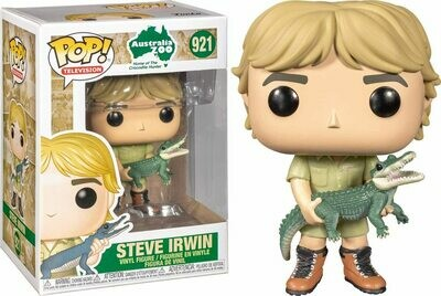 Funko Pop! Steve Irwin (Cazador de cocodrilos)