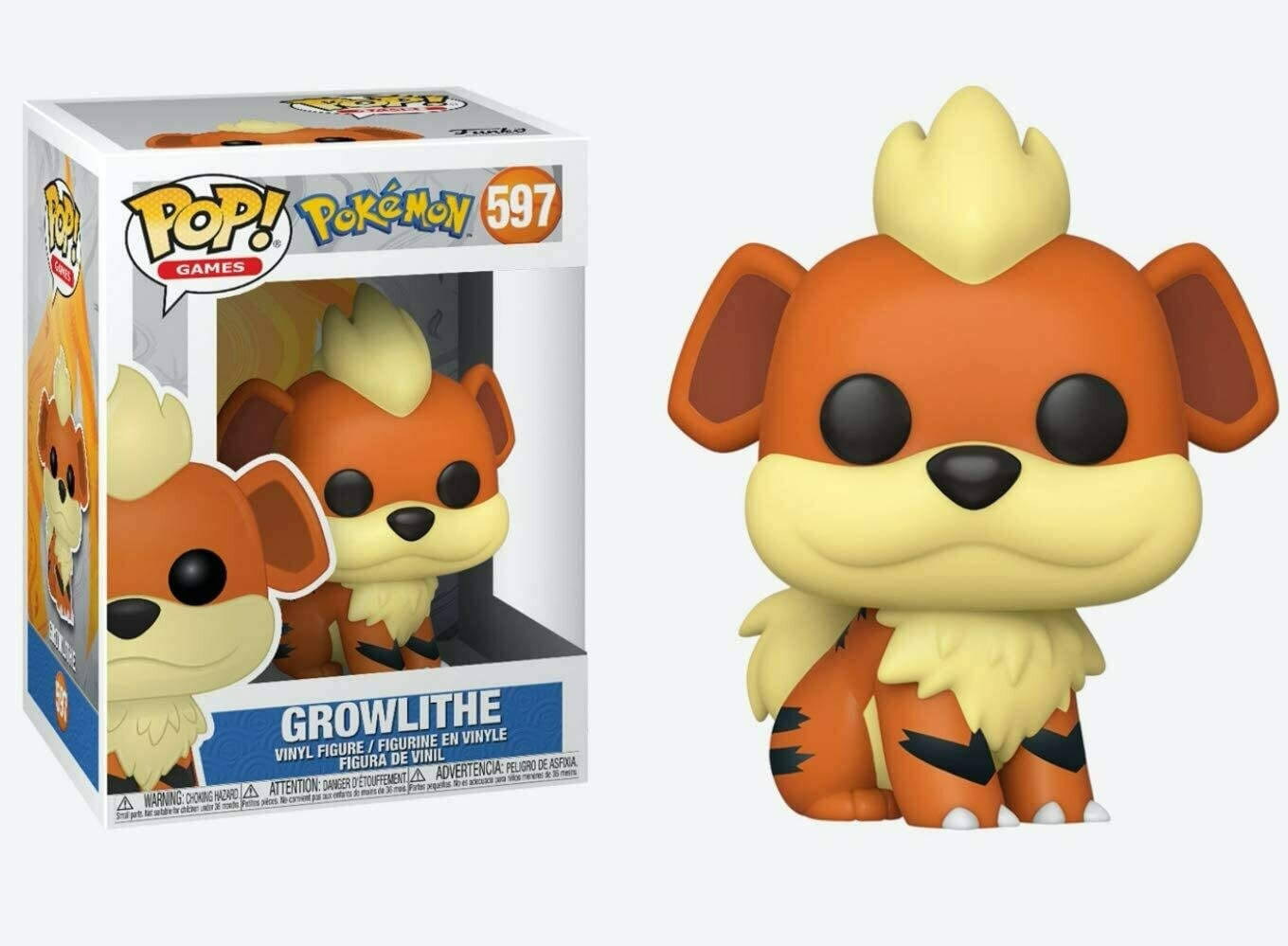 Funko Pop! Pokemon Growlithe