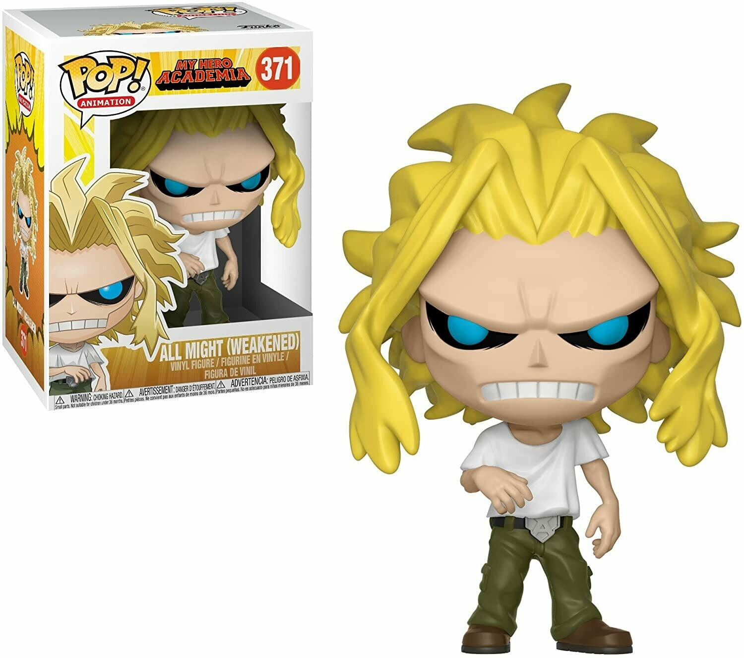Funko Pop! All Might (Weakened) - My Hero Academia