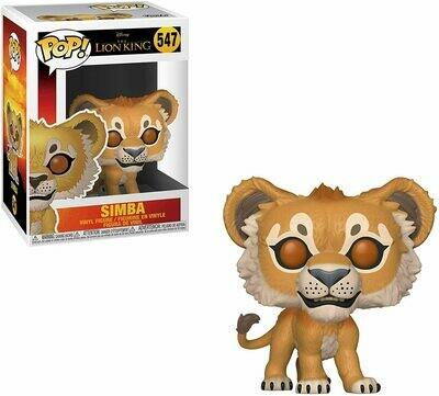 Funko Pop! Disney: Simba #547 - El Rey Leon