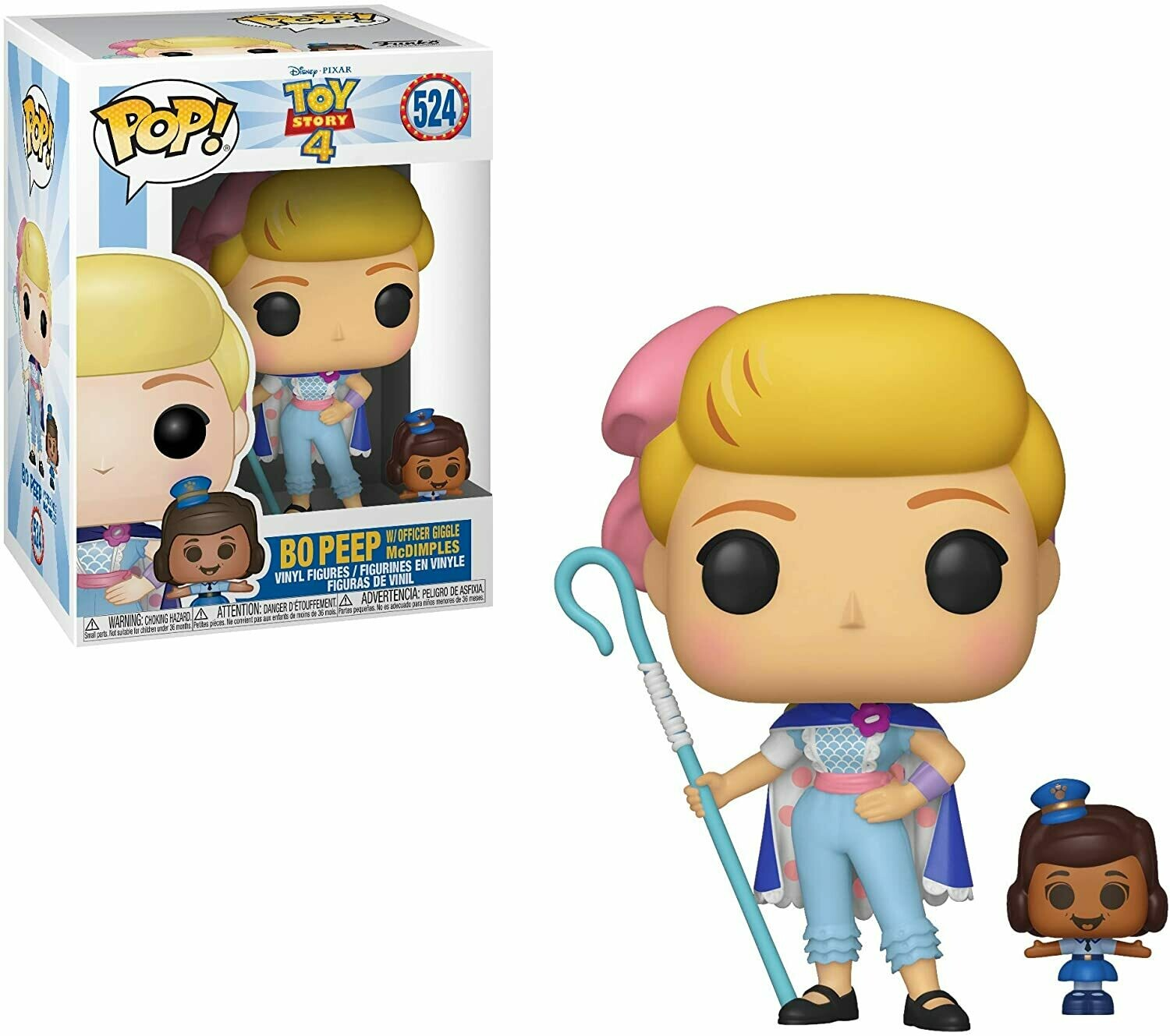 Funko Pop! Bo Peep c/ Officer Giggle - Toy Story 4