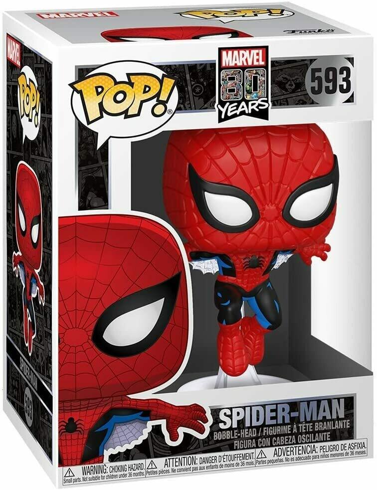 Funko Pop! Marvel 80 Aniversario: Spider-Man