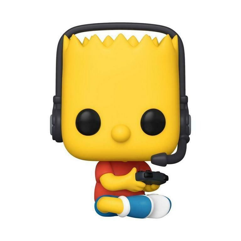 Funko Pop! Gamer Bart - Los Simpsons