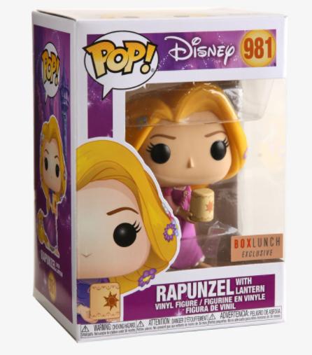 Funko Pop! Disney Rapunzel con Linterna #981