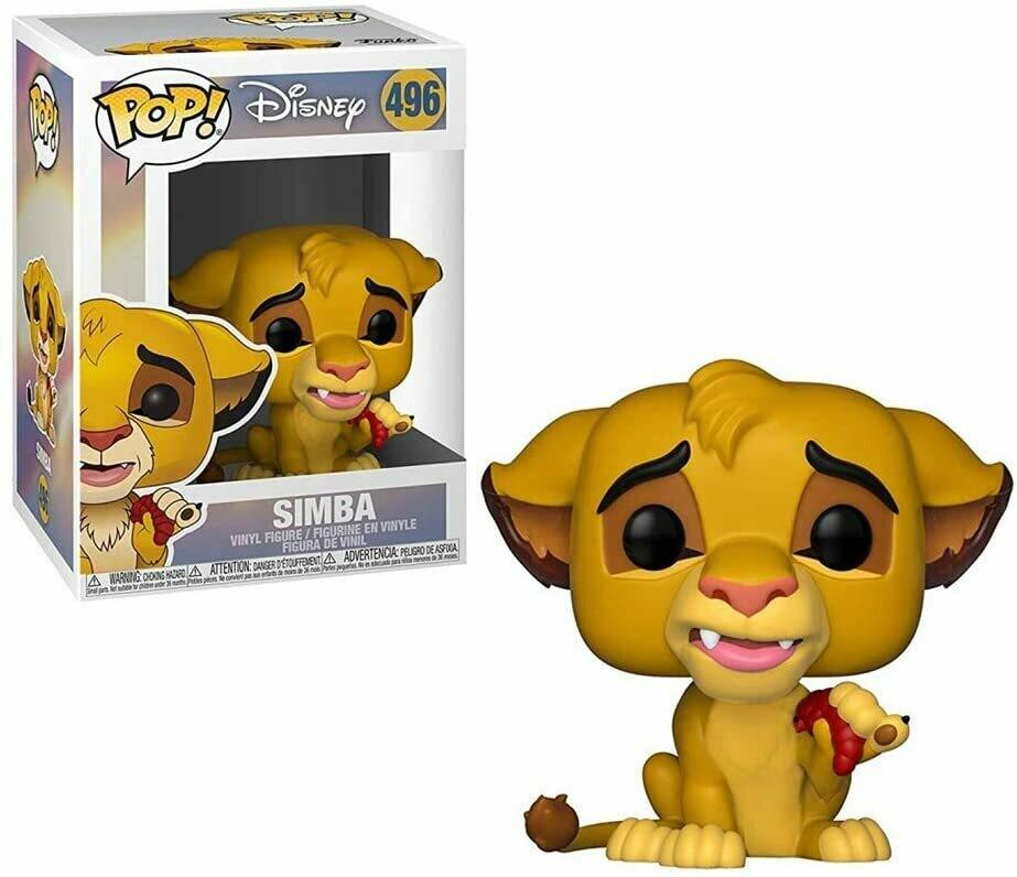 Funko Pop! Disney Simba #496 - El Rey Leon