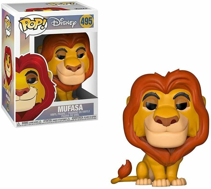 Funko Pop! Disney Mufasa #495 - El Rey Leon