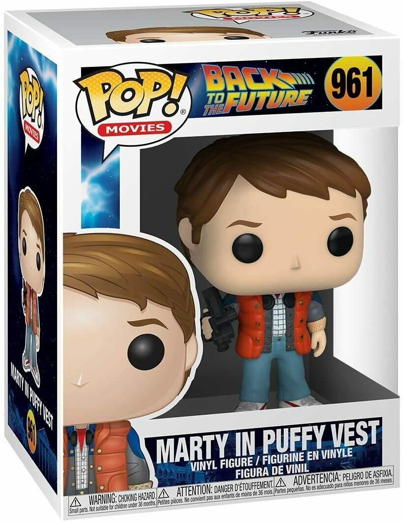 Funko Pop Marty Puffy Vest #961 - Volver al Futuro