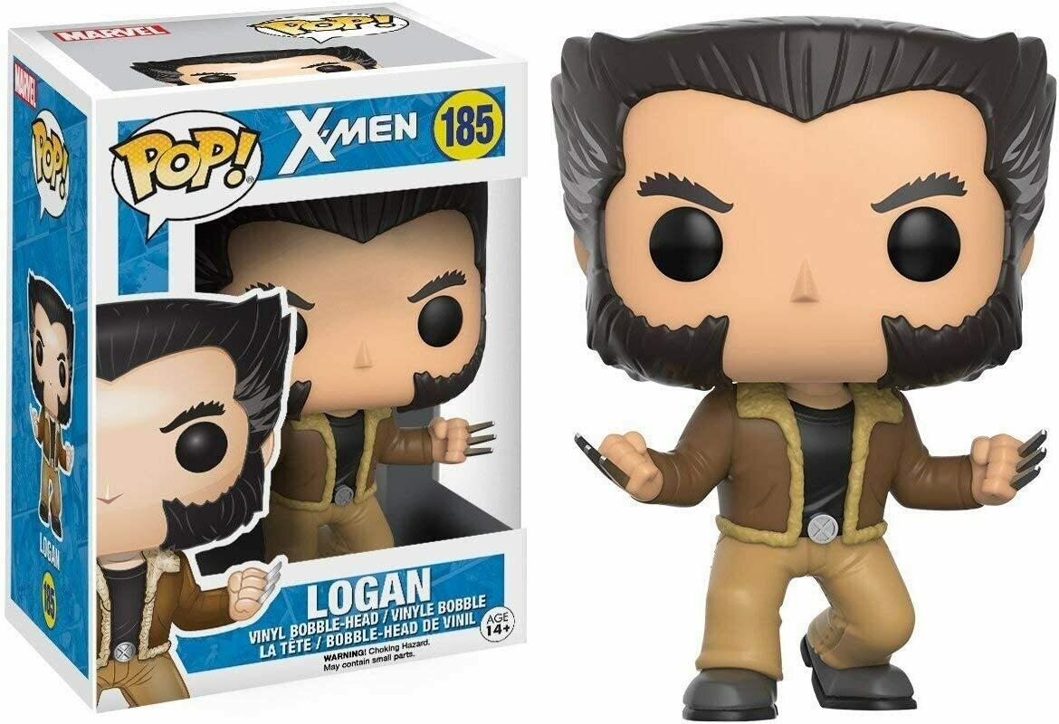 Funko Pop! Marvel: Logan Wolverine #185 X-Men