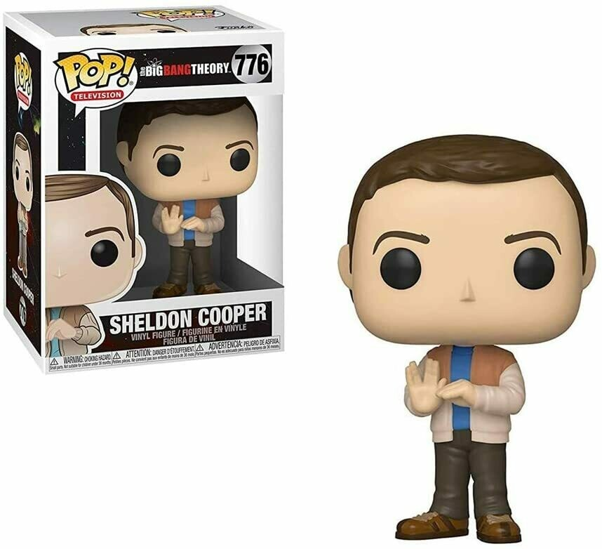 Funko Pop! Sheldon Cooper #776 - The Big Bang Theory