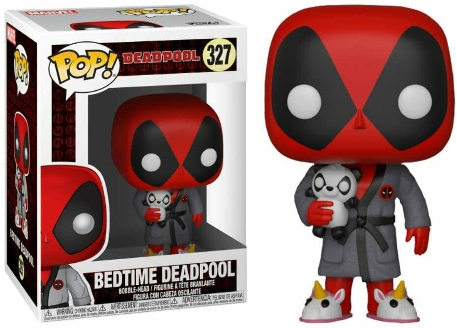 Funko Pop! Marvel: Bedtime Deadpool