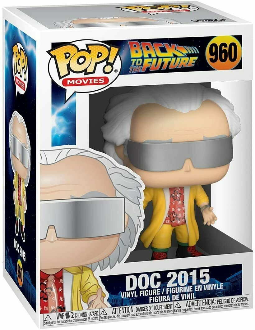 Funko Pop! Doc 2015 #960 - Volver al Futuro
