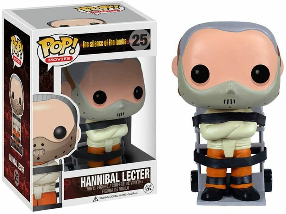 Funko Pop! Hannibal Lecter #25 - Silencio de los Inoce.
