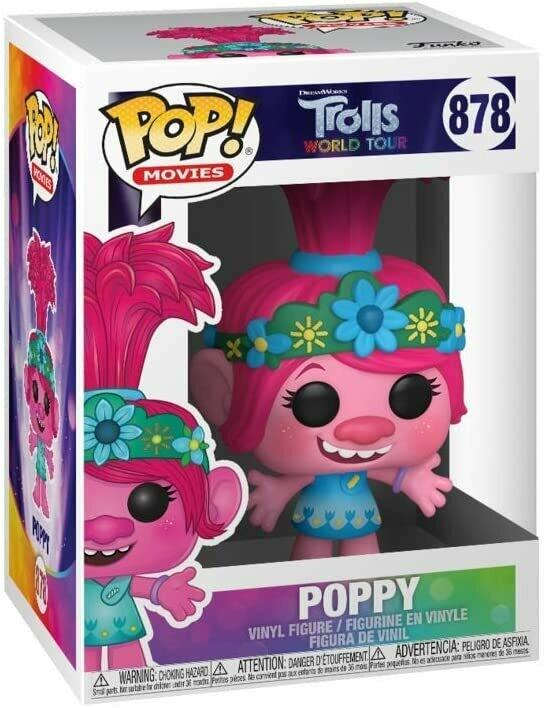 Funko Pop Poppy #878 - Trolls World Tour