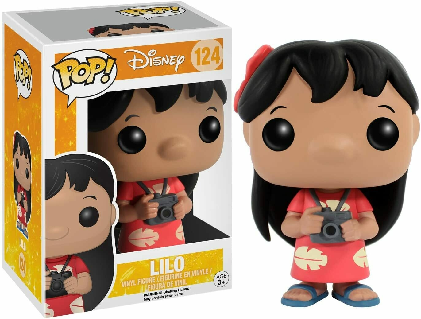 Funko Pop! Lilo #124 - Lilo & Stitch