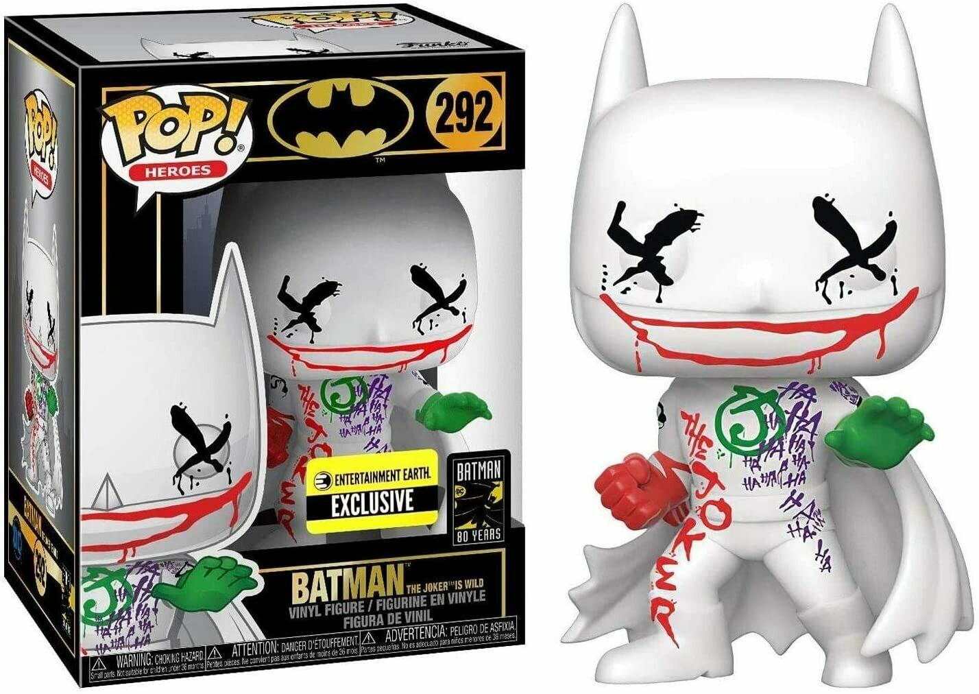 Funko Pop! Batman (The Joker is Wild) #292