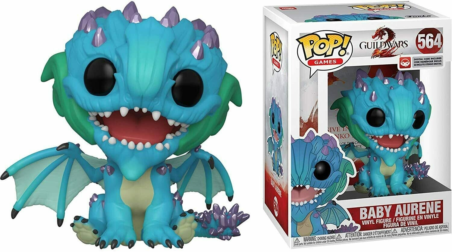 Funko Pop! Baby Aurene #564 Guild Wars 2