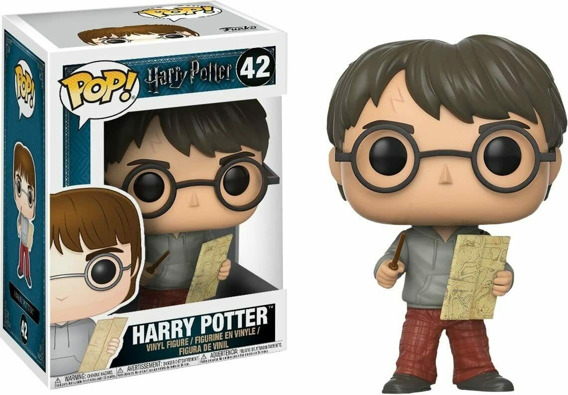 Funko Pop! Harry Potter con Marauders Map #42