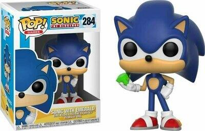 Funko Pop! Sonic con Esmeralda #284