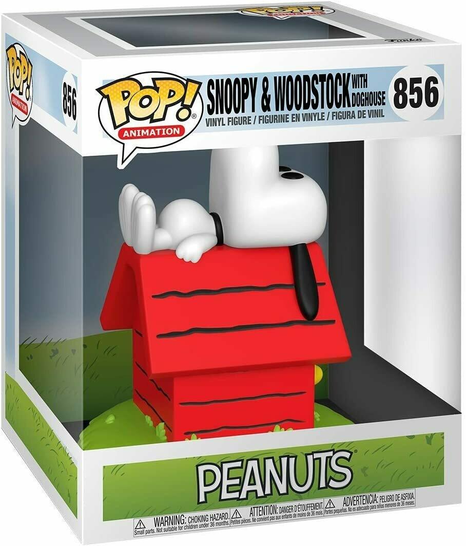 Funko Pop! Snoopy & Woodstock Doghouse - Peanuts